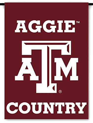 NCAA Texas A&M Aggies 2-Sided Country Garden Flag, One Size, Team ()