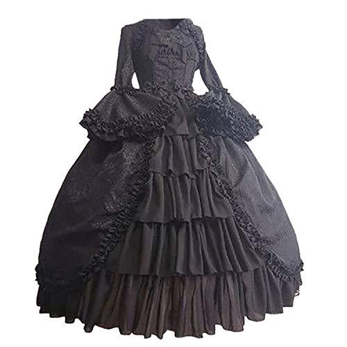 ღLILICATღ Vestidos con Arco De Estilo Medieval para Mujer ...