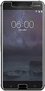 Protective Nokia 6 (2018) Tempered Glass Clear Screen Protector by hunch