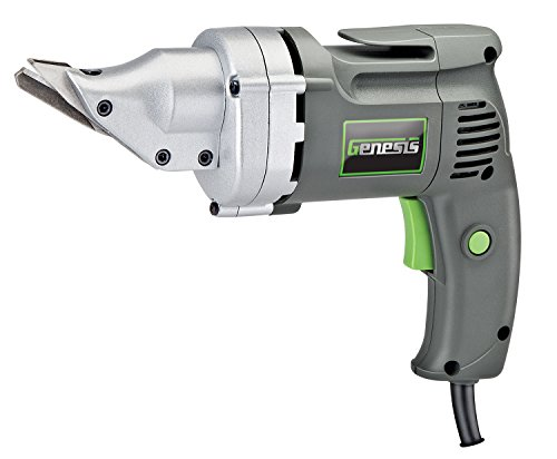 - Genesis GES40 4.0 Amp Corded Swivel Head Variable Speed Electric Power Metal Shear