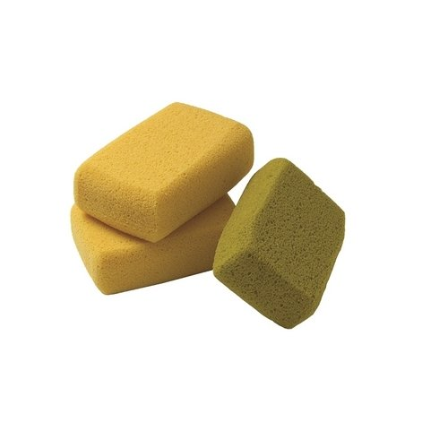Kraft Tool PL060, Medium Fine Pore Polyester Based Sponges, Pack of 3 pcs, Pack of 24 pcs