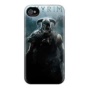 Iphone 6 KJH3714Lkjm Custom Colorful Skyrim Pattern Protector Hard Cell-phone Cases -JoanneOickle