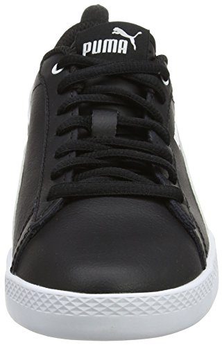 Puma Women V2 Top WNS Black L 02 Black Sneakers Low Puma White Smash puma pfrwdqp