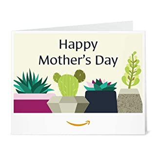 Amazon Gift Card - Print - Mother's Day Succulents (B07PCF51NN) | Amazon price tracker / tracking, Amazon price history charts, Amazon price watches, Amazon price drop alerts
