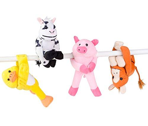 Assorted Design Barnyard Stuffed Animals