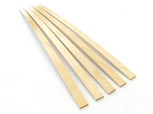 500mm 8x25 Lattenrost Reparieren Lattenrostersatzteile Ersatz Latten Leisten Lattenrost Latten graufoliert BOSSASHOP 5X Neue Federholzleisten 8mm St/ärke x 25mm Breite 0,8x2,5