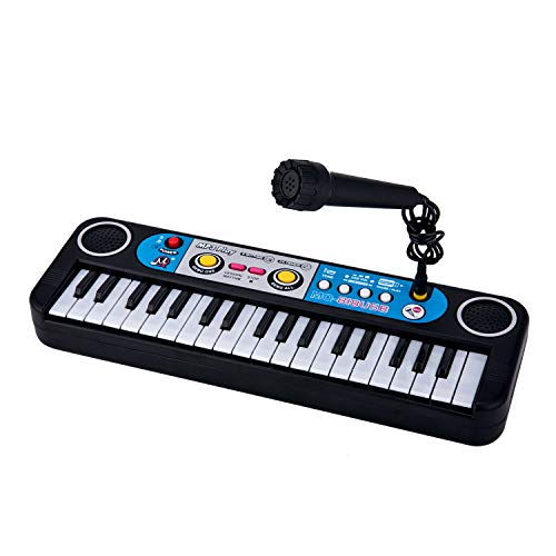 Nori Portable Piano for Kids, 37 Electronic Keyboard Musical Kids Electronic Piano with MP3 Play, Microphone, Lesson Function by Nori
