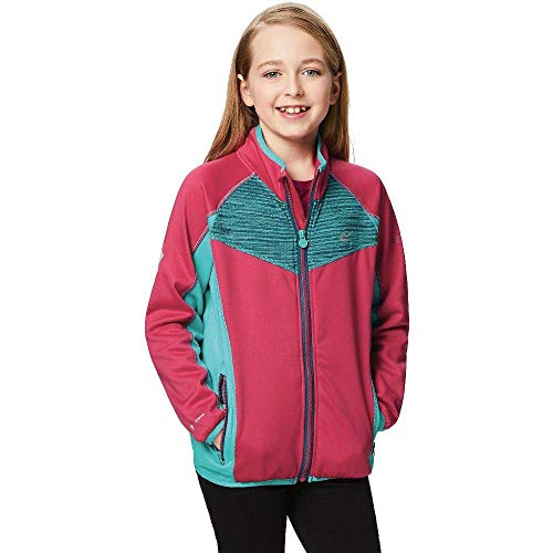 Regatta Childrens/Boys Oberon Softshell Jacket (15-16 Years) (Duchess/Moroccan Blue)