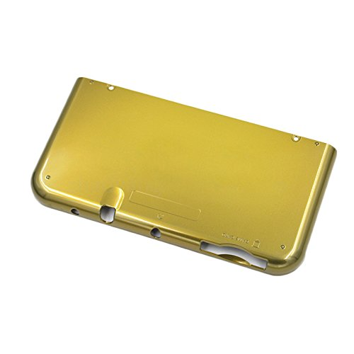 Feicuan Main Engine Bottom Cover Shell Case Replacement Part Repair for New 3DSLL/XL US Edition Host -Yellow