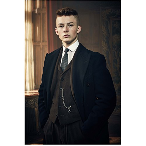Peaky Blinders Harry Kirton as Finn Shelby Standing Looking Sharp Hands in Pockets 8 x 10 Inch Photo
