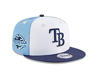 New Era Tampa Bay Rays 2018 MLB All-Star Game 9FIFTY Snapback Adjustable Hat – White/Navy