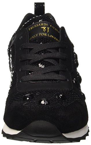 Trussardi Jeans 79s21451, Chaussures Basses Femme Noir (Nero)