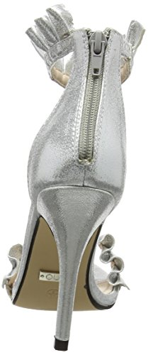 Cheville Argenté Silver Sandales Quiz Barely 001 Frill Silver Femme Theres Bride wafAYq