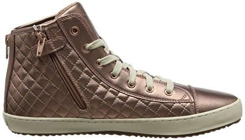 EU Unisex Alto Adulto J a 41 F Geox Sneaker Collo Rose Kalispera Rosa Old wx10Sq4AnO