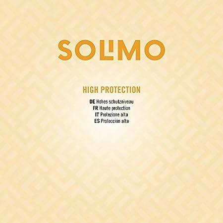 Marca Amazon - Solimo - SUN - Crema solar facial FPS 30, con vitamin E, antioxidante (4x50 ml)
