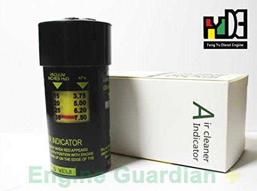 Air Cleaner Filter Flow Indicator 1W613M-KBZ-1-1 7.5Kpa - Filter Indicator