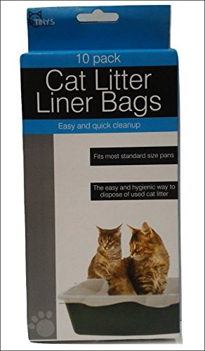 Tiny's Cat Litter Liner Bags Pack of 10