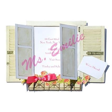 Amazon window box die cut card pack of 10 greeting cards window box die cut card pack of 10 m4hsunfo