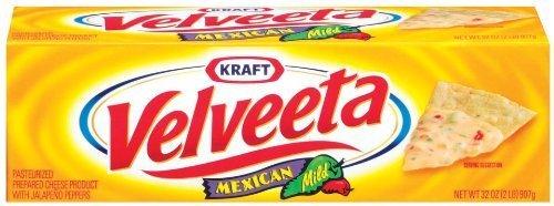 Amazon.com: Velveeta Mexican, Mild, 32-Ounce Loaves (Pack of 2) by Velveeta [Foods]