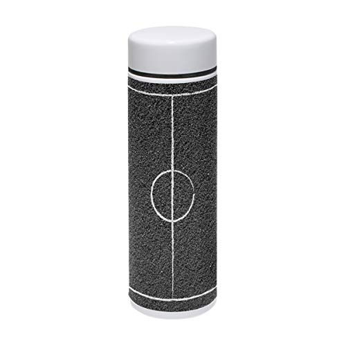 LORVIES Street Basketball Court Stainless Steel Thermos Water Bottle Insulated Vacuum Cup Leak Proof Double Vacuum Bottle for Hot and Cold Drinks Coffee or Tea, Travel Thermal Mug,220 ml/ 7.5oz -