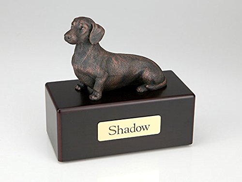 Ever My Pet Dachshund Economy Bronze Series Dog Pet Urn by Ever My Pet