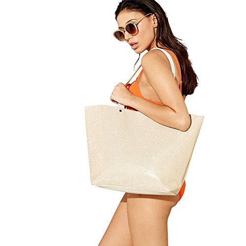Beach Collection Glitter Gold Womens Bag AfqHwpA