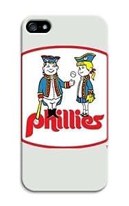 Personalizado Monogram–Carcasa para iPhone 5C de MLB Philadelphia Phillies Béisbol