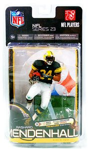 McFarlane NFL Series 23 Rashard Mendenhall Pittsburgh Steelers retro jersey exclusive action - Nfl 23 Jerseys