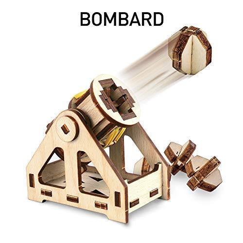 41s3lcrA7uL - NATIONAL GEOGRAPHIC - Da Vinci's DIY Science & Engineering Construction Kit - Build Three Functioning Wooden Models: Catapult, Bombard & Ballista