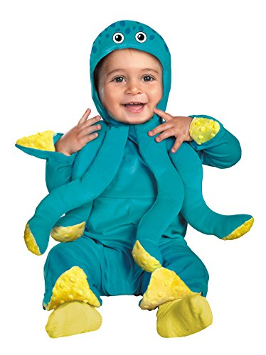 Child Clown Cutie Costumes (UHC Baby's Octopus Under The Sea Cutie Infant Child Halloween Costume,)
