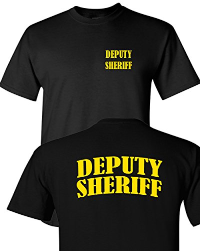 Tee Plaza - Official Event Safety Uniform Yellow B logo t-shirt DEPUTY -XL