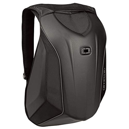 (OGIO 123007.36 No Drag Mach 3 Motorcycle Backpack - Stealth Black)