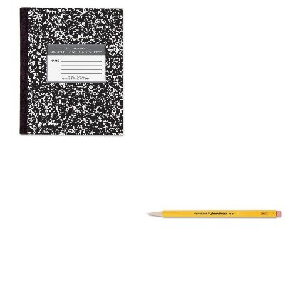 KITPAP3030131ROA77333 - Value Kit - Roaring Spring Marble Cover Composition Book (ROA77333) and Paper Mate Sharpwriter Mechanical Pencil (PAP3030131)