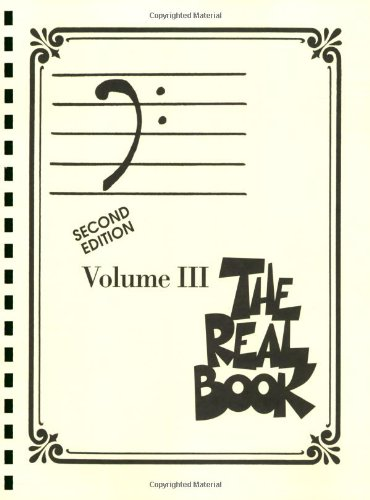 Bass Fake Book - The Real Book - Volume III: Bass Clef Edition (Real Books (Hal Leonard))