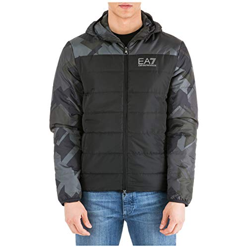 Emporio Armani EA7 Men Jacket Nero M for sale  Delivered anywhere in USA