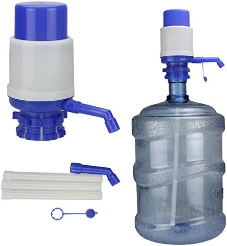 5-6 Gallon Hand Pump for Water Bottle Jug Manual Drinking Tap Spigot Camping  lA