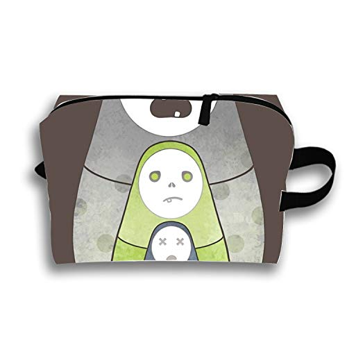 Portable Travel Makeup Cosmetic Bags Zombie Nesting Dolls By -