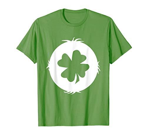 Good Luck Costume T Shirt Irish Heartbeat - Men Women -
