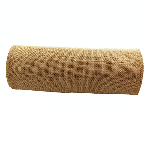 Runner Ivory Roll Custom (OZXCHIXU Jute Burlap Table Runner 12'' Wide x 10 Yards Long For Burlap Fabric Roll Perfect for Weddings, Table-Runners, Decorations & Crafts.)