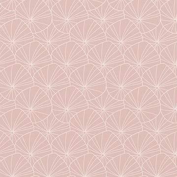 Little Dutch TE20220850 Schnullertuch Stern Lily Leaves rosa 15 x 15 cm