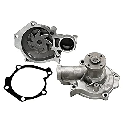 Timing Belt Kit Water Pump w/Tensioner Fits 2.4L G4JS 1999-2006 Hyundai Sonata Santa Fe Kia Optima 16v: Automotive
