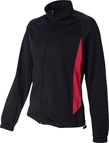 WOMEN'S MEDALIST JACKET Augusta Sportswear Black/Red