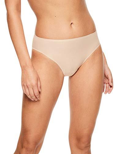Chantelle Women's Soft Stretch One Size French Cut Brief, Ultra Nude, OS (Chantelle Briefs Women Underwear)