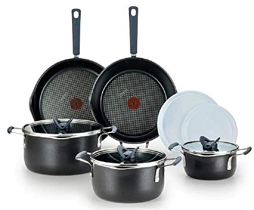 T-Fal Stackables 10-pc. Cookware Set B198SA64
