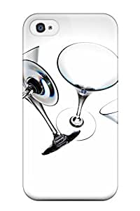 New Arrival Martini Glasses For Iphone 4/4s Case Cover by lolosakes