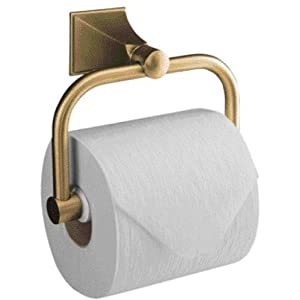 KOHLER K-490-2BZ Memoirs Stately Toilet Tissue Holder, Oil-Rubbed Bronze