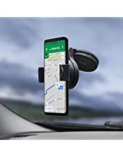 Windshield Phone Holder - Universal Mobile Phone Holder - 360 Degree Rotation - Olixar Omniholder Universal In Car Windscreen Mount / Dock - Universal Compatibility