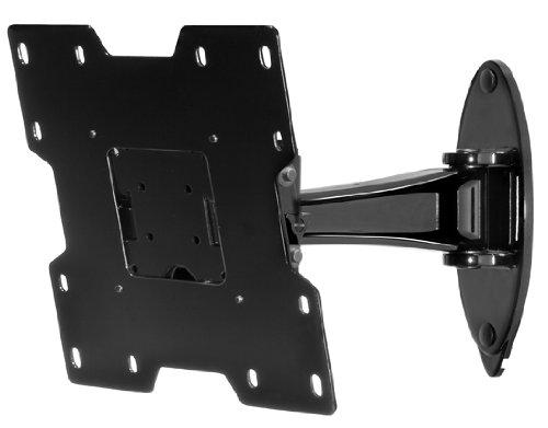 (Peerless SP740P SmartMount Pivot Wall Arm, Black)