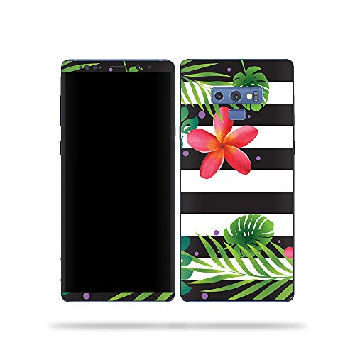 MightySkins Skin Compatible with Samsung Galaxy Note 9 - Tropical Stripes   Protective, Durable, and Unique Vinyl Decal wrap Cover   Easy to Apply, Remove, and Change Styles   Made in The USA