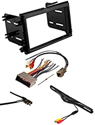 Scosche Fd1426b Double Din Installation Kit For 2004-up Ford Vehicles Double Din Car Stereo Radio Dash Kit Mounting Trim Bezel W Back Up Camera